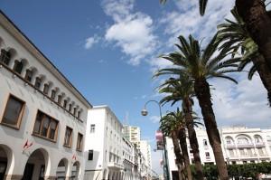 Rabat city center